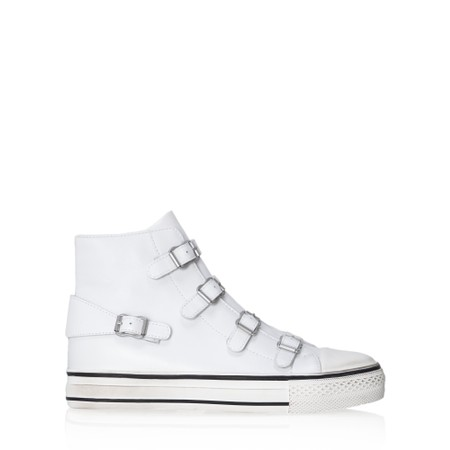 Ash Genesis Buckle Trainer Shoe - White