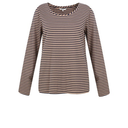 Sandwich Clothing Stripe Print T-Shirt - Blue