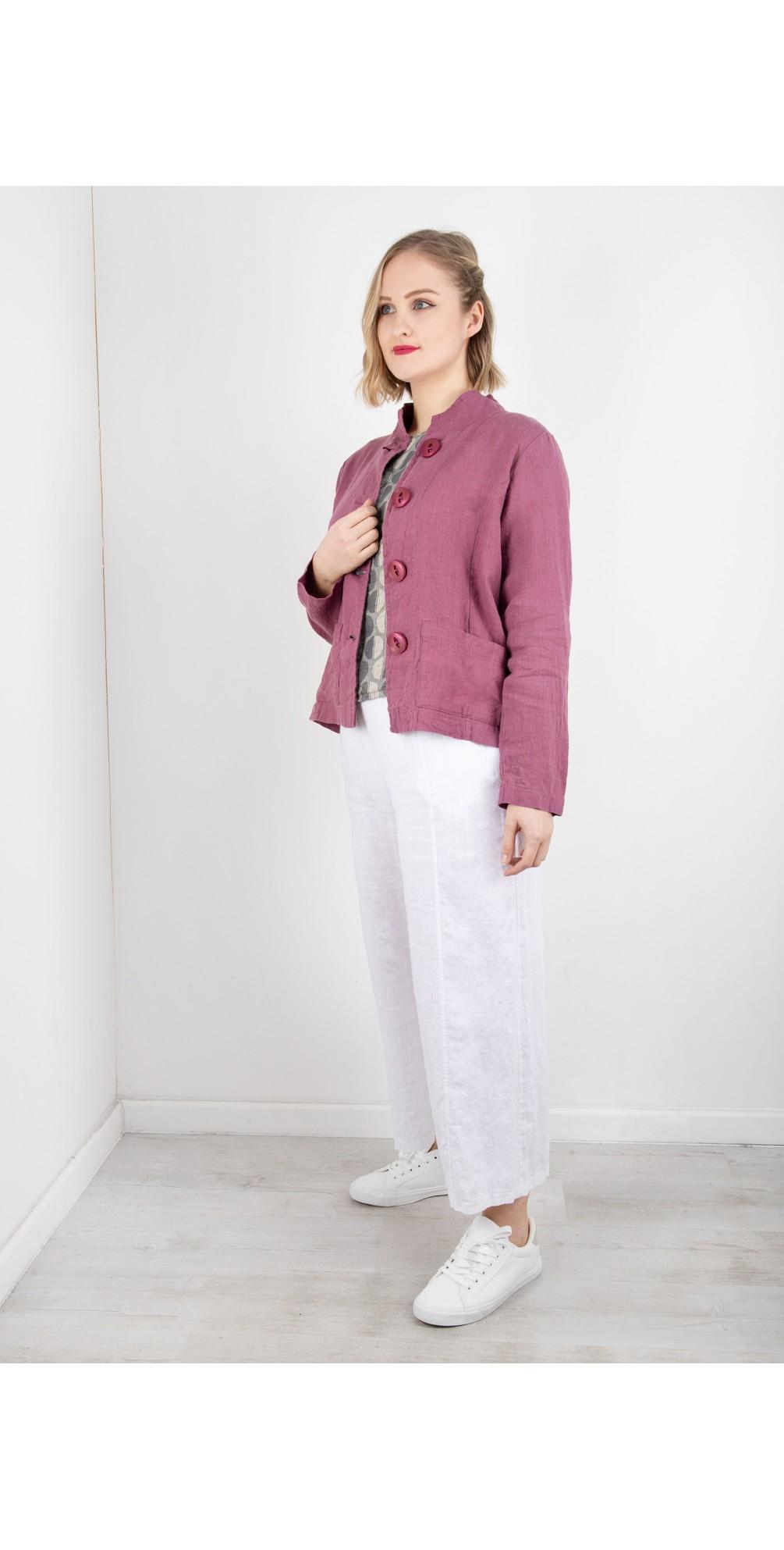 Easy Parallel Linen Trouser main image