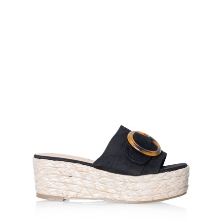 Livshu Amalfi Wedge Sandal  - Black