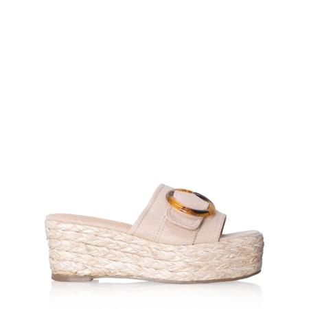 Livshu Amalfi Wedge Sandal  - Beige
