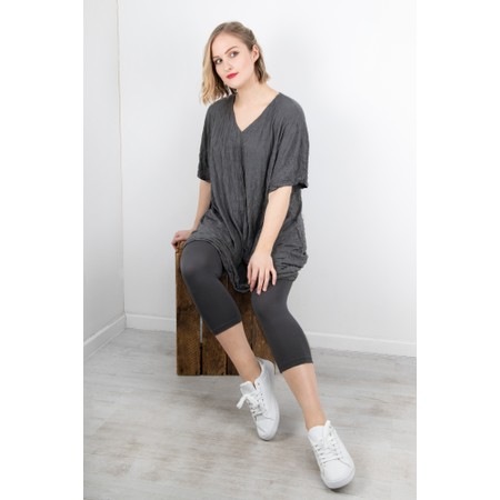 Thing 7/8 Bamboo Legging - Grey