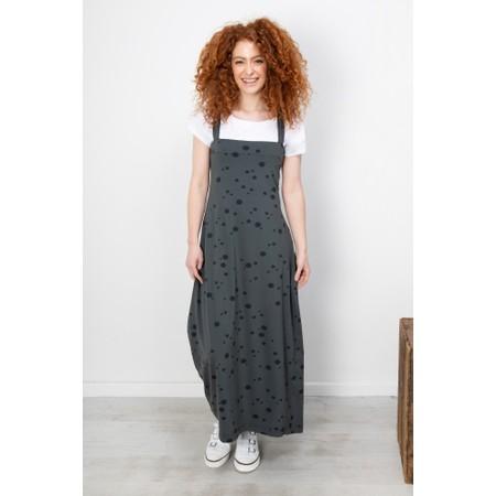 Mama B Spot Print Sleeveless Dress - Orange