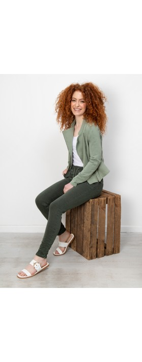 Amazing Woman Gemini Cargo Jogger Trouser Verde Militare