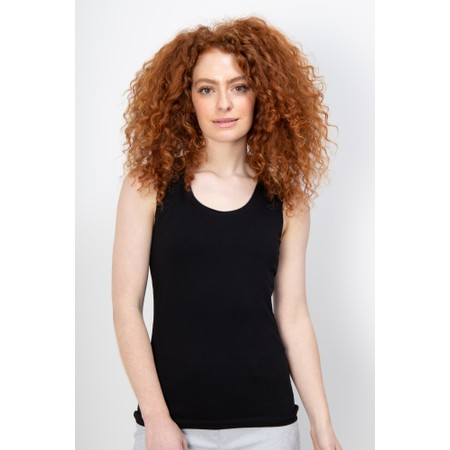 Crea Concept Jersey Shell Top - Black