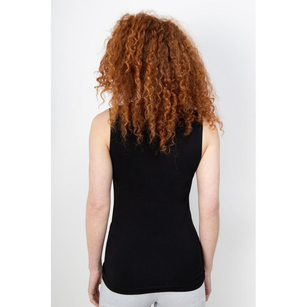Crea Concept Jersey Shell Top Black