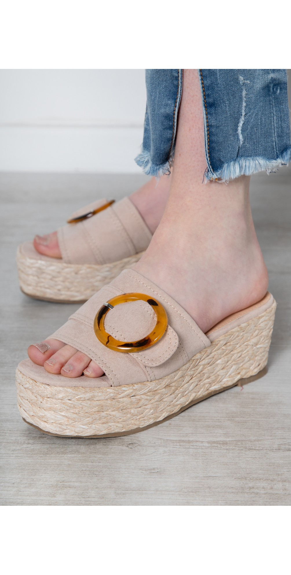 Amalfi Wedge Sandal  main image
