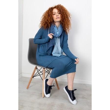 BY BASICS Sibi Bamboo Skirt - Blue