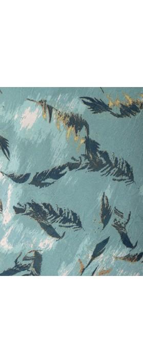 Adini Sirocco Print River Dress Teal