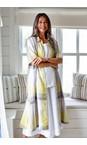 Sahara Multi Madras Check Shirt Linen Dress
