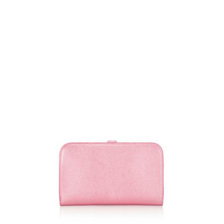 Gemini Label  Meli Pleather Matinee Purse - Pink
