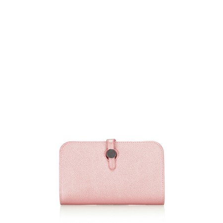 Gemini Label  Meli Pleather Matinee Purse - Pink