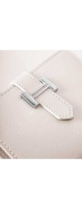 Gemini Label Bags Hali Purse Beige