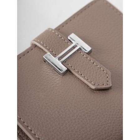 Gemini Label Bags Hali Purse - Brown