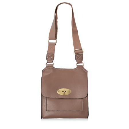 Gemini Label  Jorie Crossbody Bag - Brown