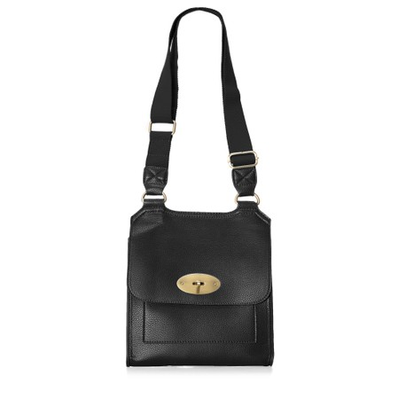 Gemini Label  Jorie Crossbody Bag - Black