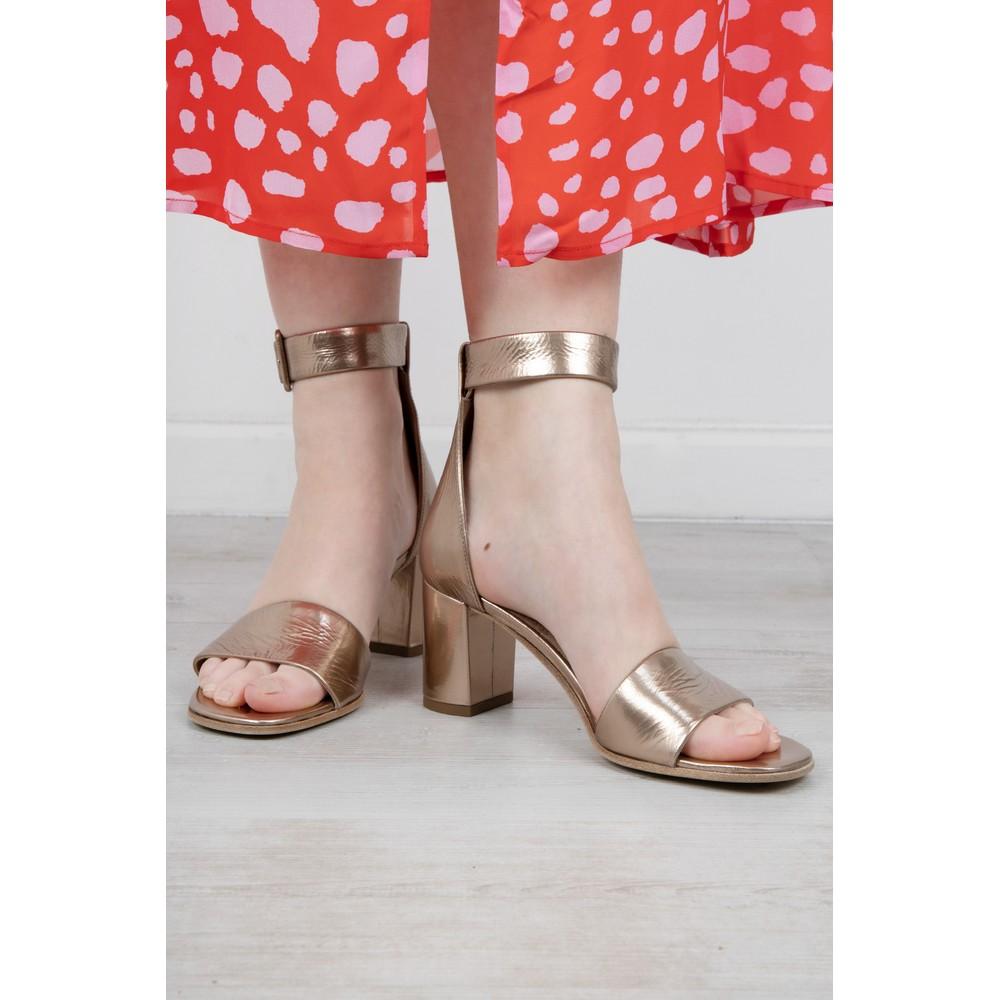 Kennel Und Schmenger Olivia Ankle Strap Sandal Gold