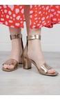 Kennel Und Schmenger Gold Olivia Ankle Strap Sandal