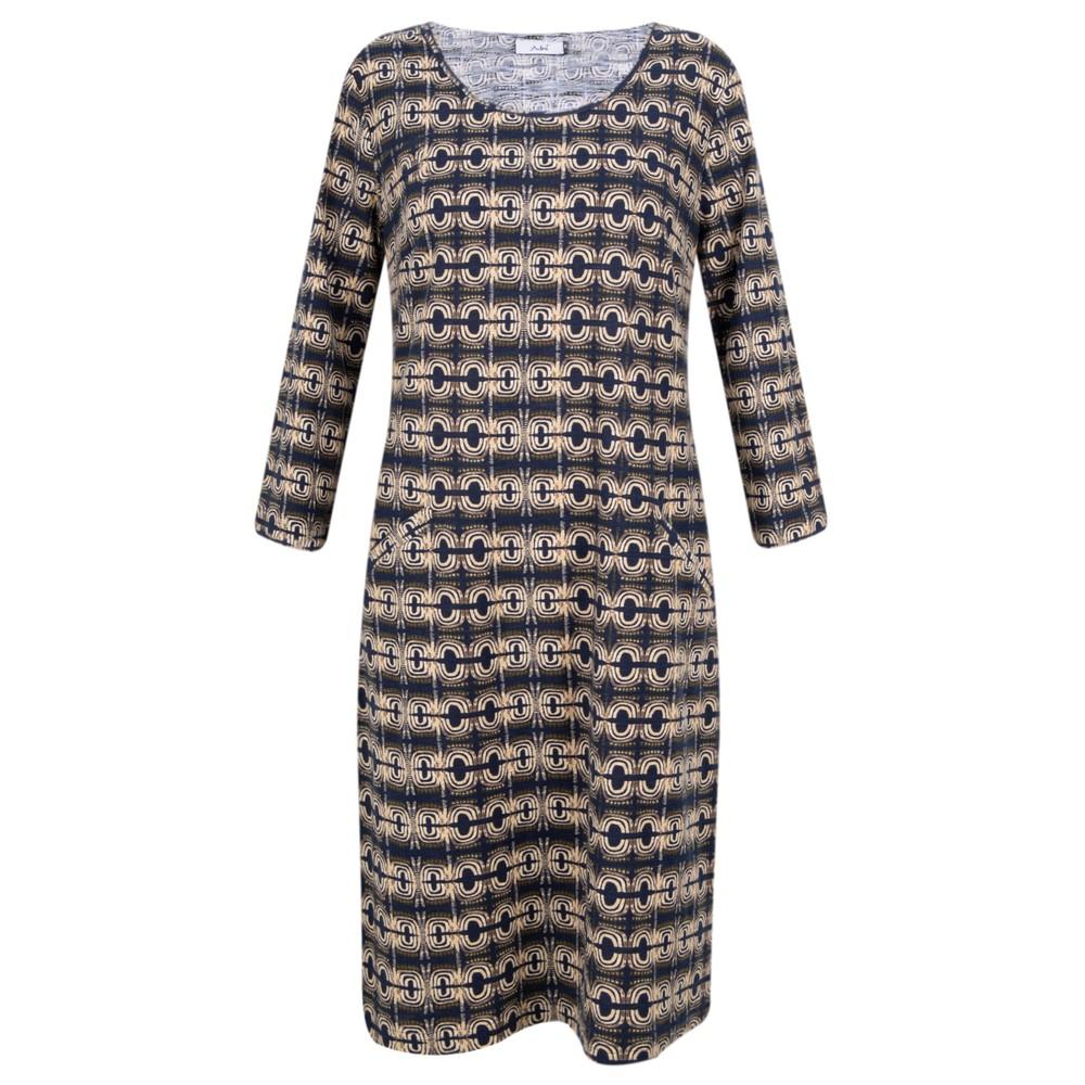 Adini Magus Print Magus Dress Midnight