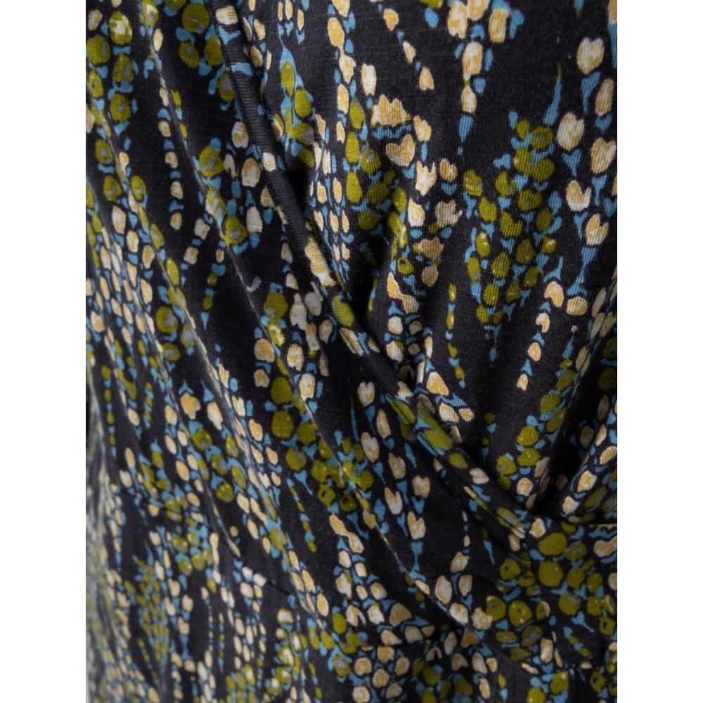 Adini Serpentine Print Serpentine Dress Fern
