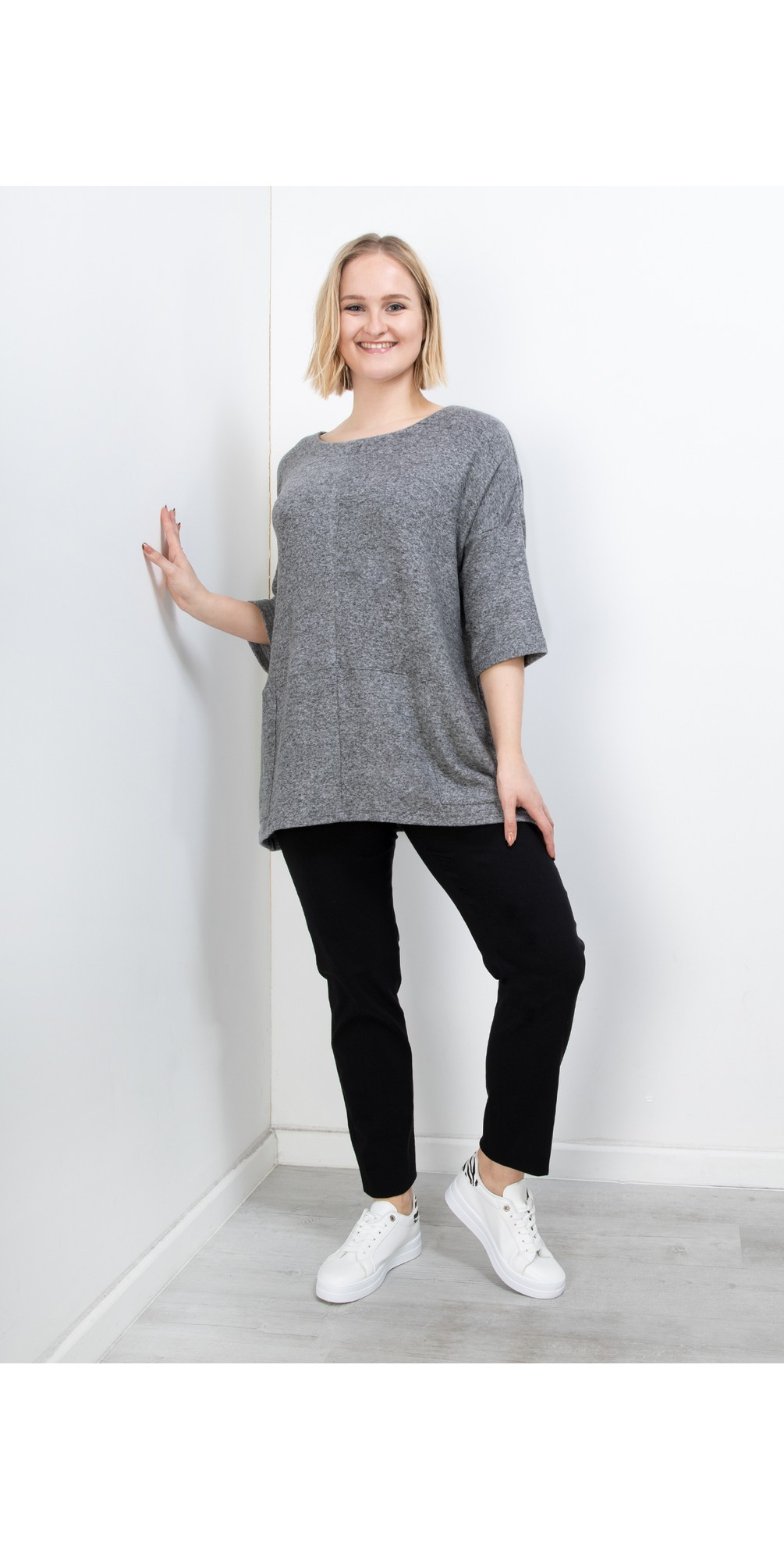 Bella Black Slim Fit 78cm Full Length Trouser main image