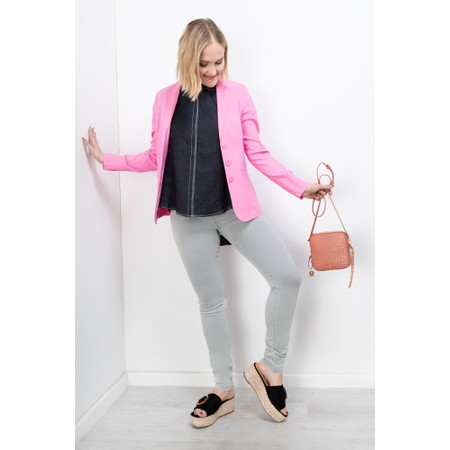 Robell Emilia Fitted Jacket - Pink