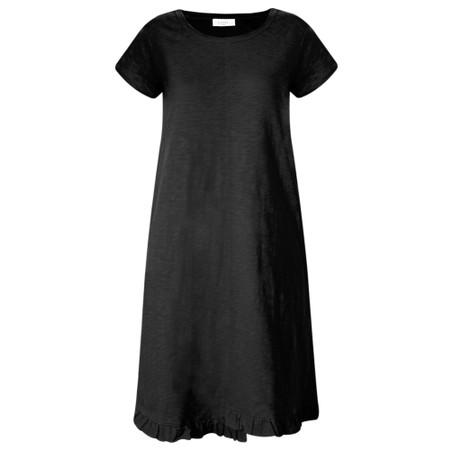 Foil The Frill Of It All Tee Dress - Black