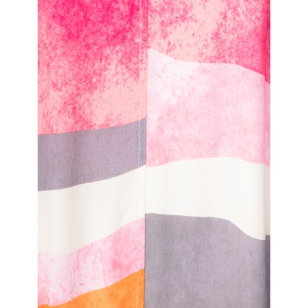 Foil Switching Sides Dress - Pink