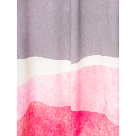 Foil Ghosts Of The Past Top - Pink