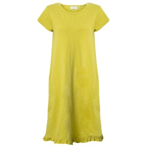 Foil The Frill Of It All Tee Dress