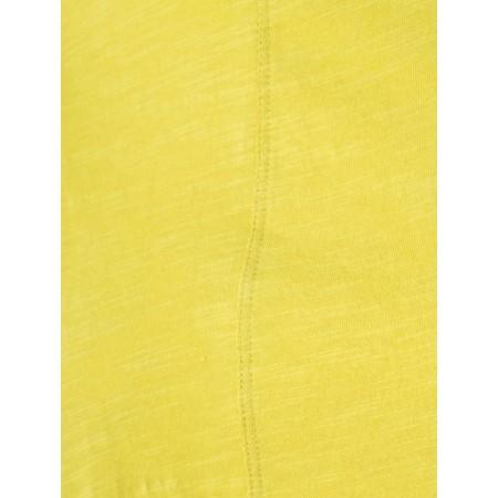 Foil The Frill Of It All Slub Tee - Yellow