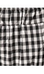Mama B Nero Bianco  Checked Print Trousers