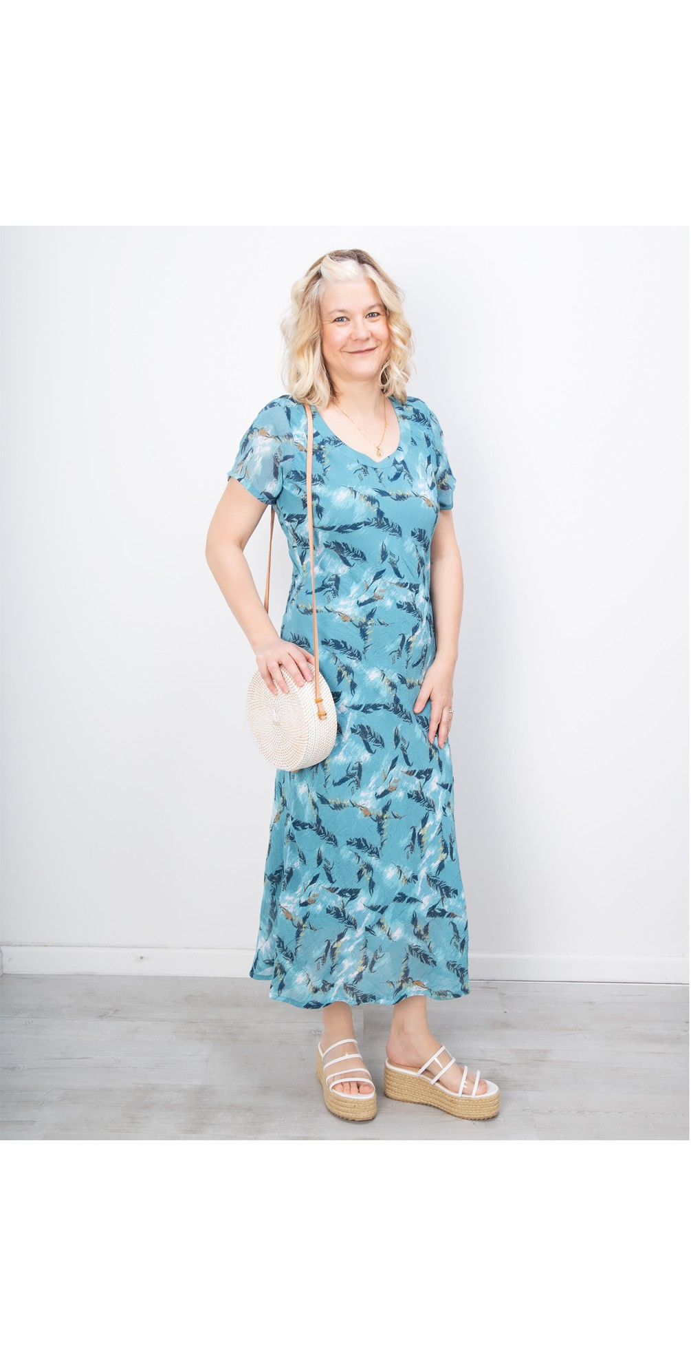 Sirocco Print River Dress main image