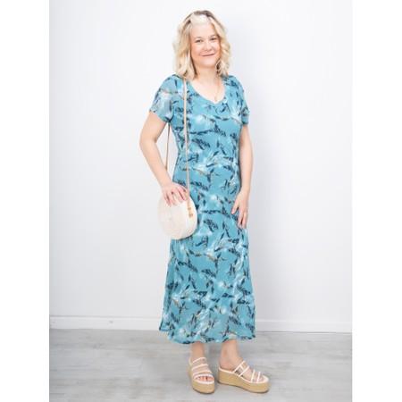 Adini Sirocco Print River Dress - Green