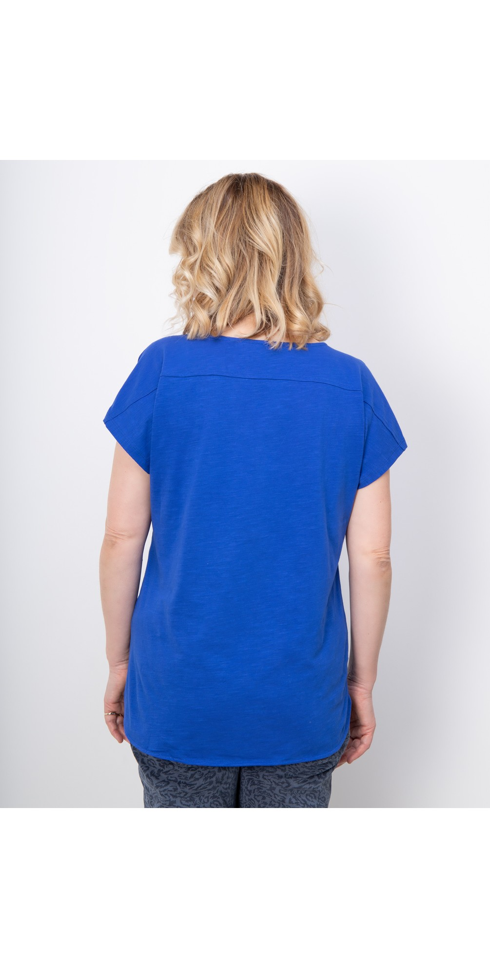 Short Sleeve V-neck Top main image