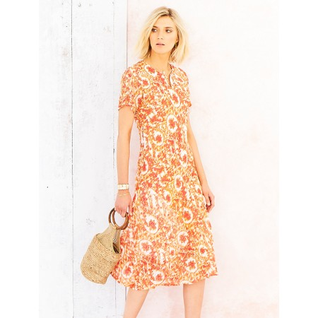 Adini Polly Dress - Orange