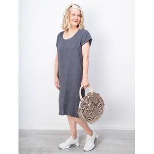 Betsy & Floss Antibes Round Basket Bag - Black