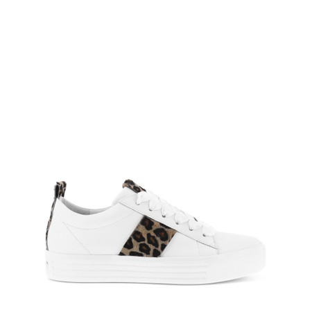 Kennel Und Schmenger UP Animal Print Trainer shoe - White