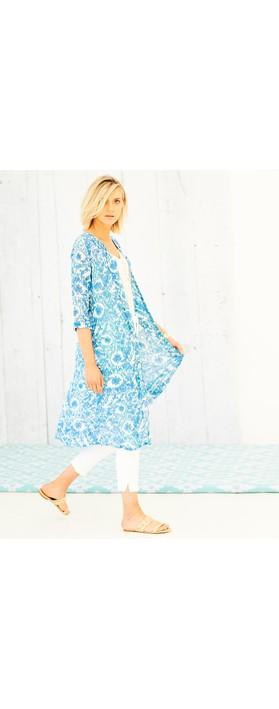 Adini Samantha Jacket Marine Blue