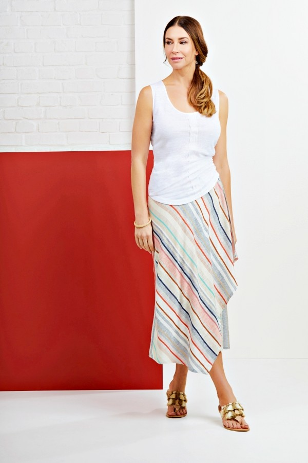 Tipping The Scale Linen Skirt main image
