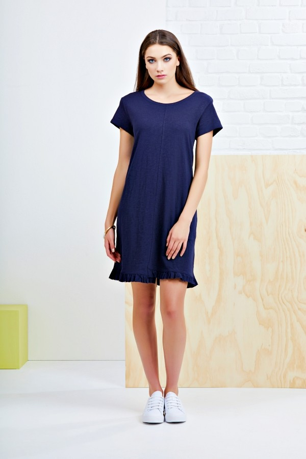 The Frill Of It All Tee Dress main image