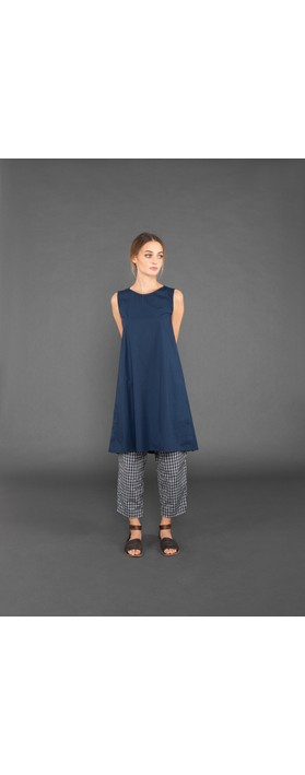 Mama B Lasola Cotton Dress Blu