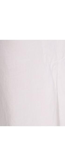 Mes Soeurs et Moi Ariege Linen Tunic Top Blanc White