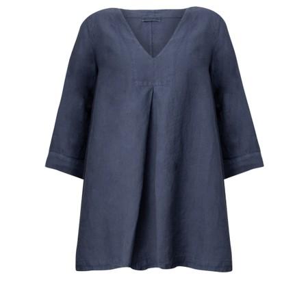 Mes Soeurs et Moi Ariege Linen Tunic Top - Blue