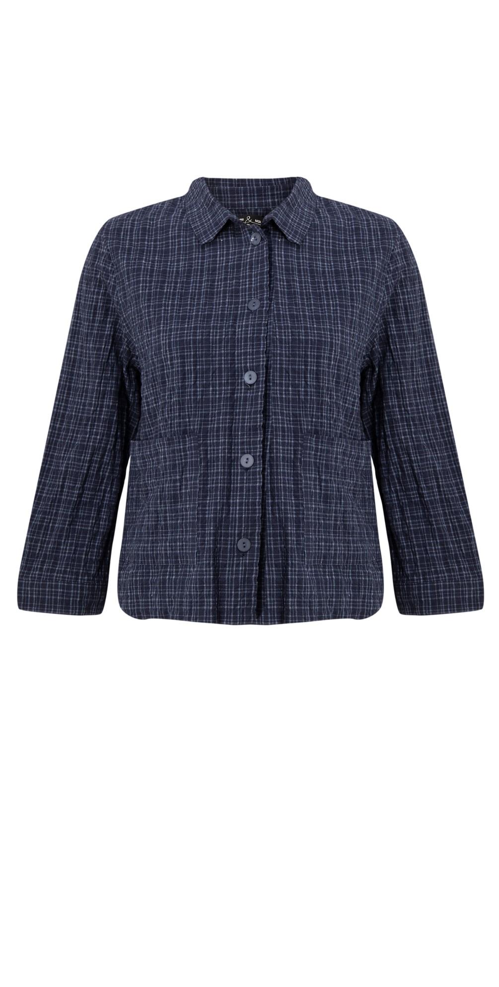 Etude Denim Jacket with Pockets main image