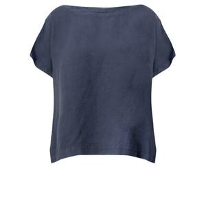 Mes Soeurs et Moi Artisan Arachon Linen Cap Sleeve Top