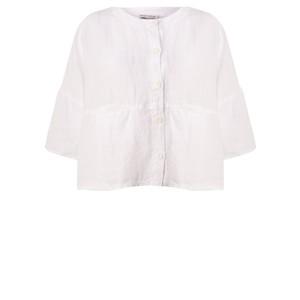 Mes Soeurs et Moi Aruba Arachon Linen Button Front Top
