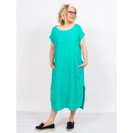 Mes Soeurs et Moi Arfi Arachon Linen Shift dress - Green