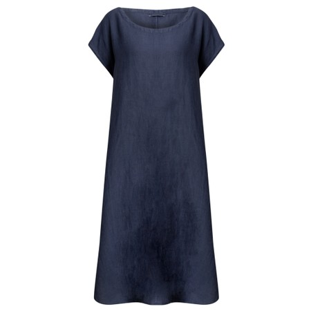 Mes Soeurs et Moi Arfi Arachon Linen Shift dress - Blue