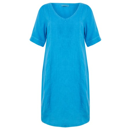 Mes Soeurs et Moi Arolla Arachon Linen Dress  - Blue